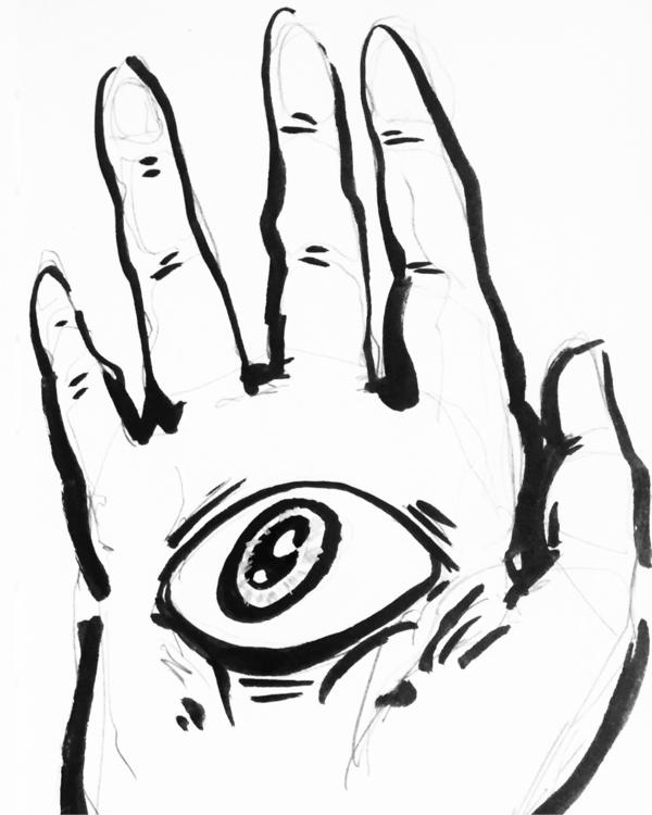 ink, illustration - mowmowchevsky | ello
