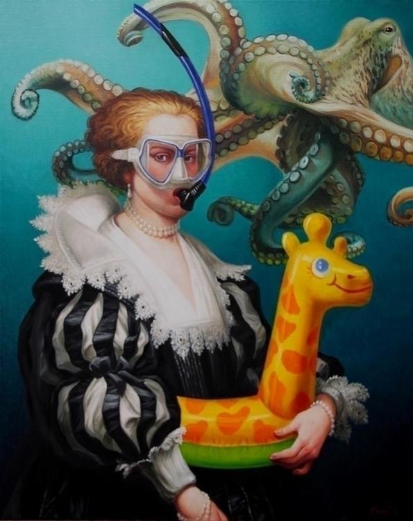 - artist - Octopus, talltreesofparis - helliongallery | ello