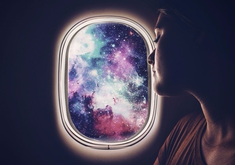 Galaxy Window Edit Pure Magic - picsartphotostudio | ello