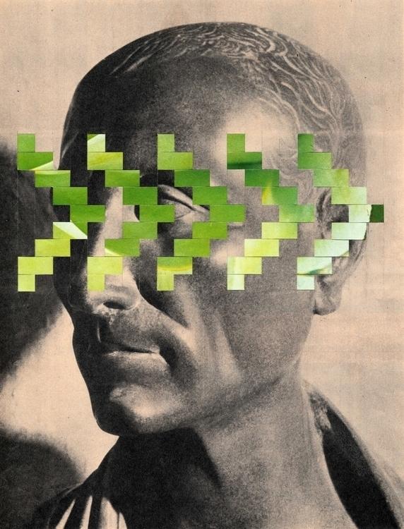 Jules - 23x30 cm Paper weaving  - claire_martine_ | ello