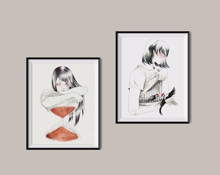 illustration, illustrator, works - 1eligarcia | ello