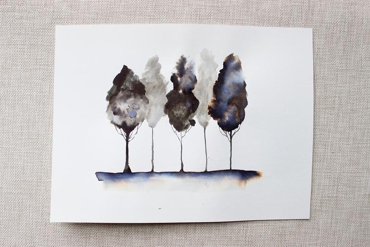 illustration, watercolor, ink - 1eligarcia | ello