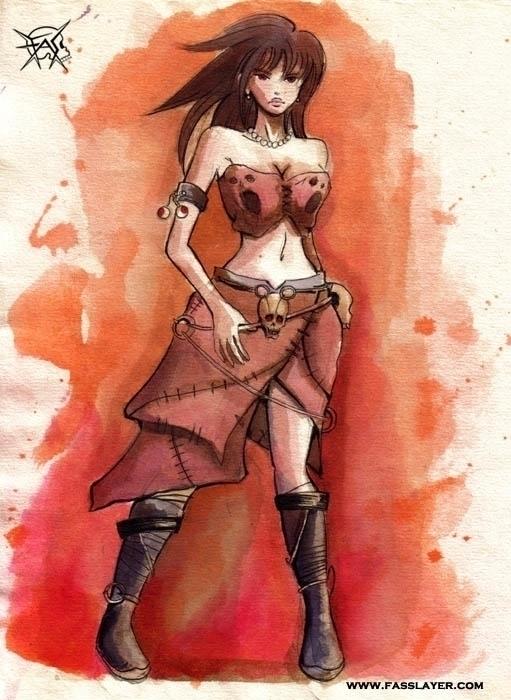 watercolor painting - illustration - fasslayer   ello