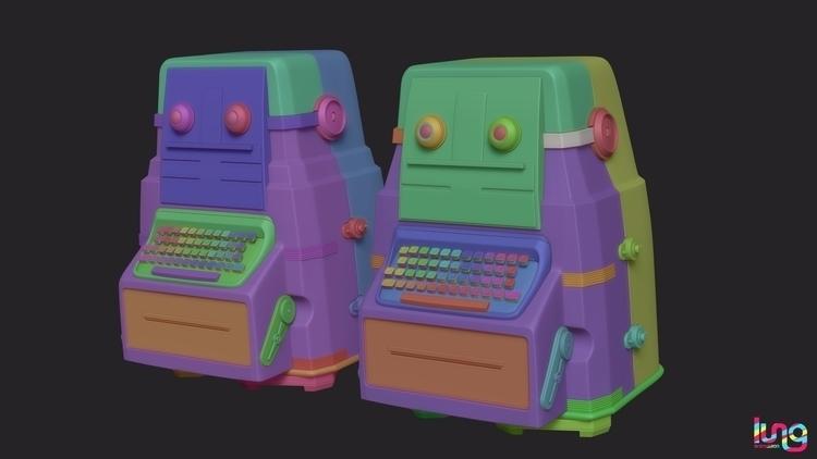 robots - ruanels | ello
