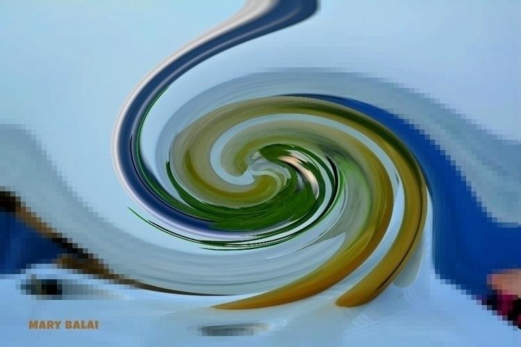 Mojito - digital, abstract, art - mairoularissa | ello