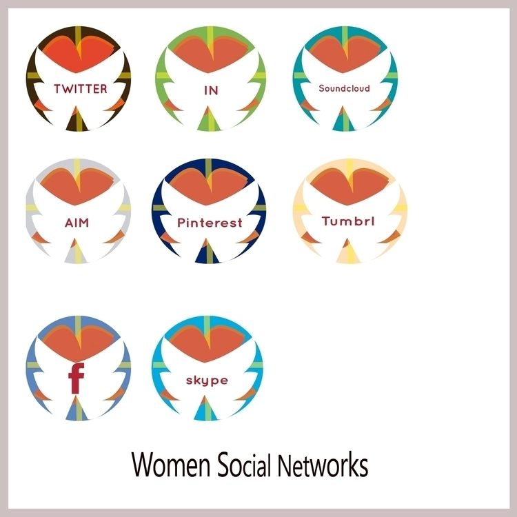 Icon Packs Womens Social Networ - inovationperfectdesigns | ello