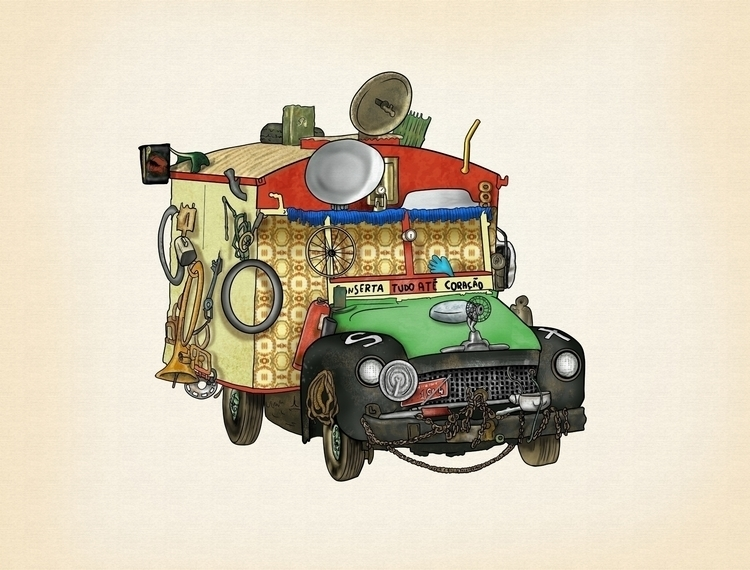 Camicleta - illustration - juliocgrio | ello