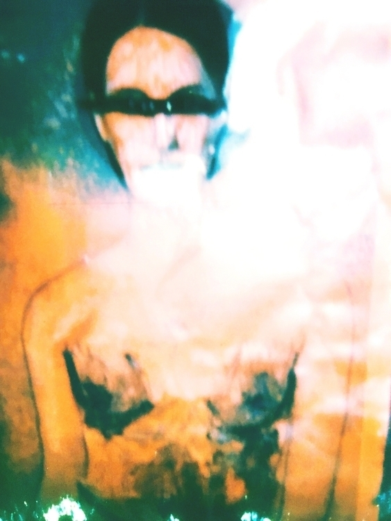 polaroid, art, portrait - jkalamarz | ello