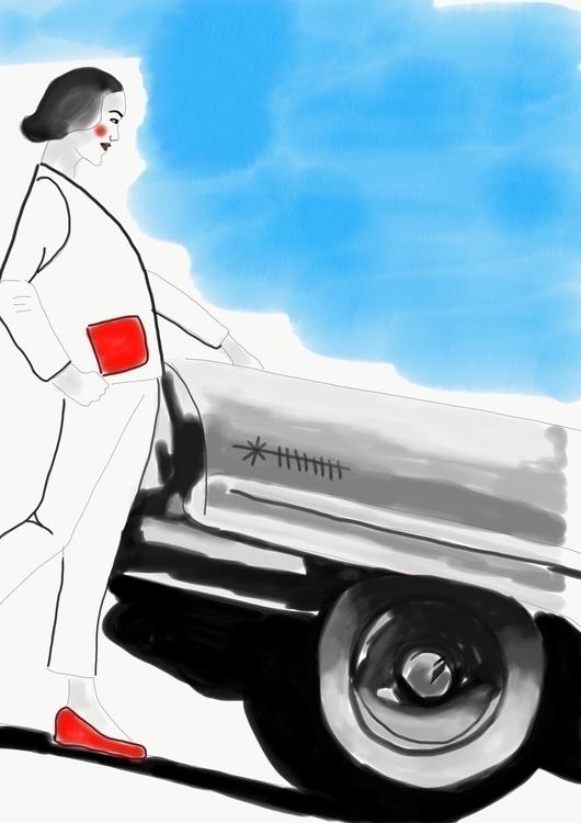 Work progress. Illustration boo - freemindd | ello