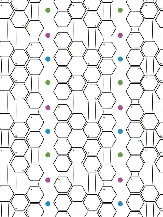 geometric hexagon inspired patt - svaeth | ello