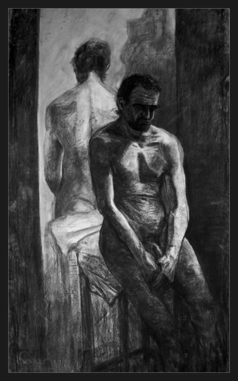 Franky Despair Charcoal drawing - artofsedas | ello