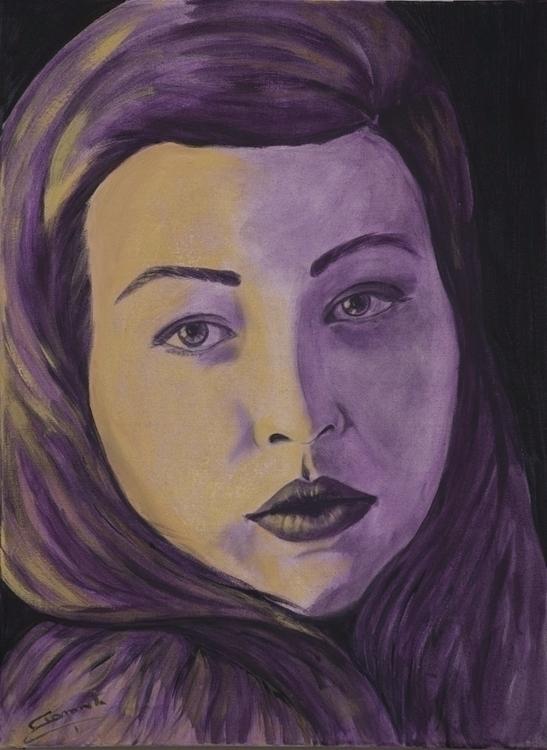 Lolita 50x70 cm acrylic canvas  - tizianagiammetta   ello