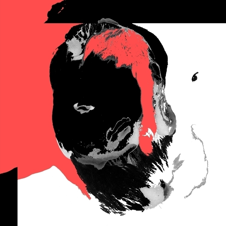 Bruce (2016) - Abstract Portrai - diigima | ello