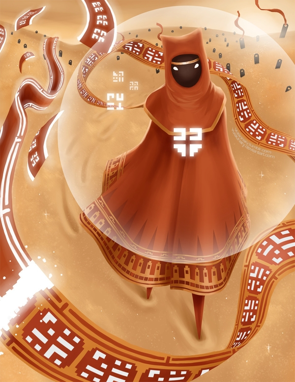 Fanart game Journey. Great stor - vusionary | ello