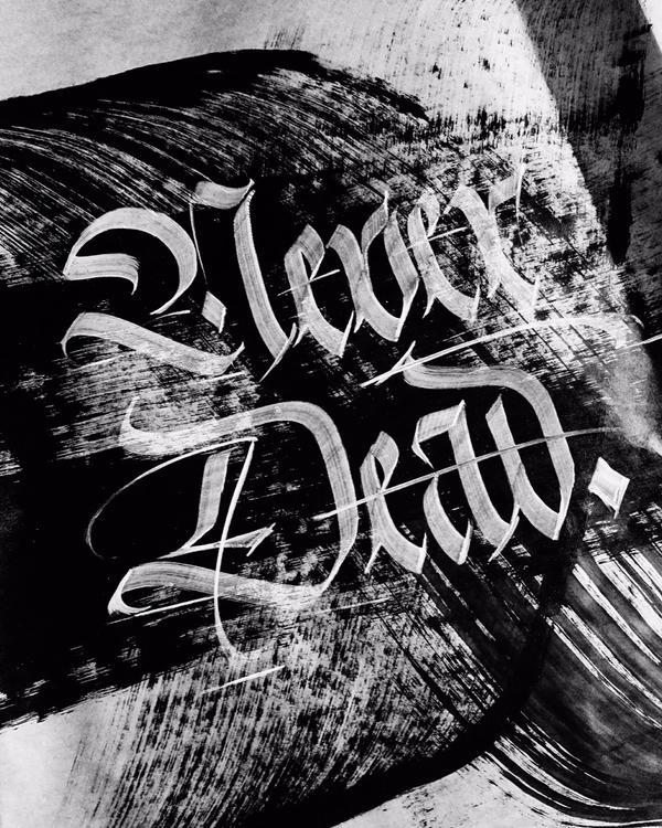 Dead - art, calligraphy, blackletter - igorsturion | ello