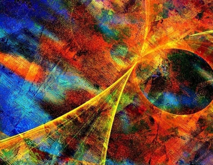 Highway Heaven, digital abstrac - jmbowers | ello