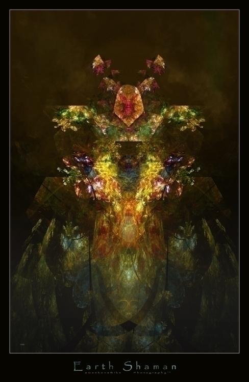 Earth Shaman fractal based digi - ageekonabike | ello