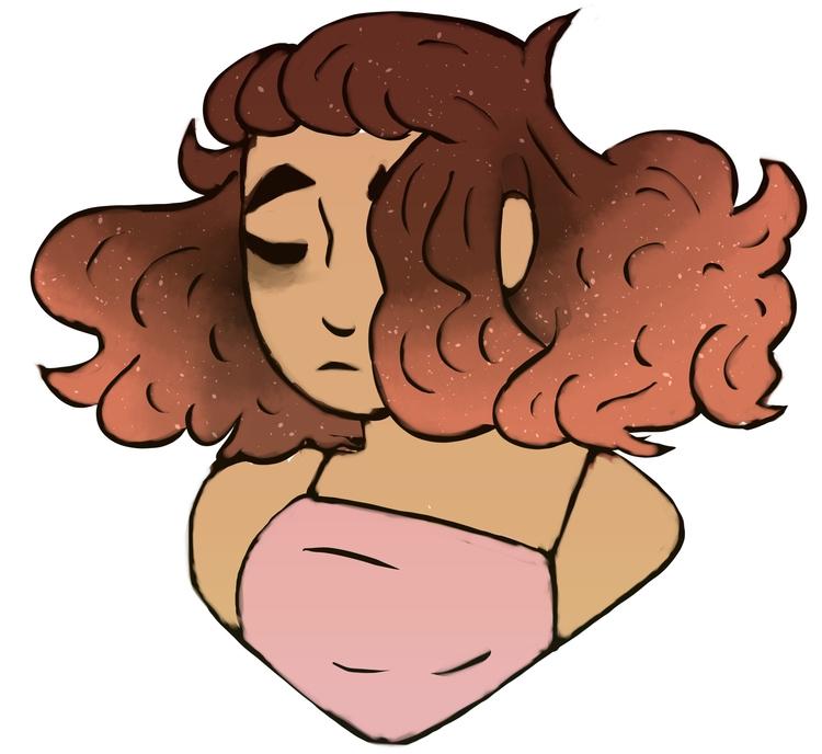 ~ bed time doodle turned nice - sketch - forestheartsarts | ello