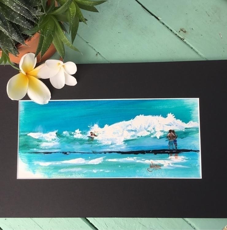 Quick study Waikiki - michellewynnart | ello