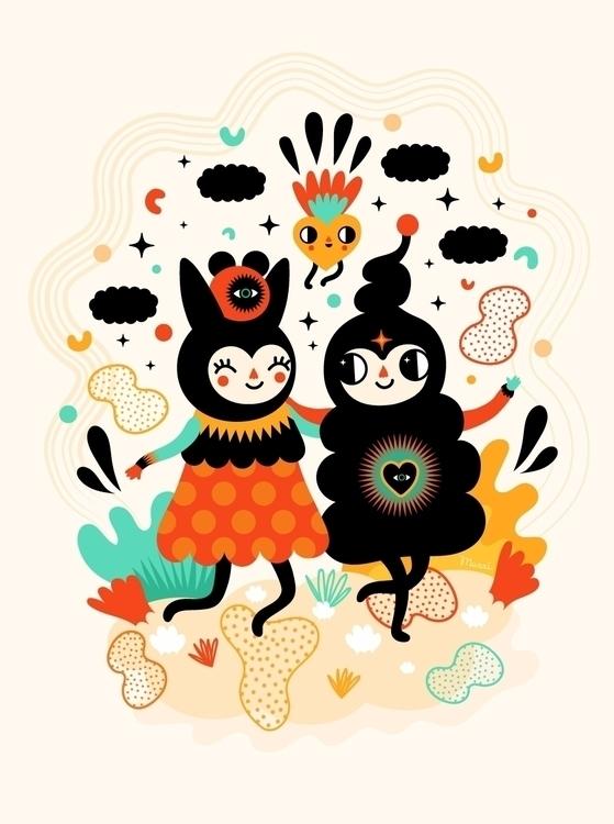favorite date - illustration, loveismagic - muxxi   ello