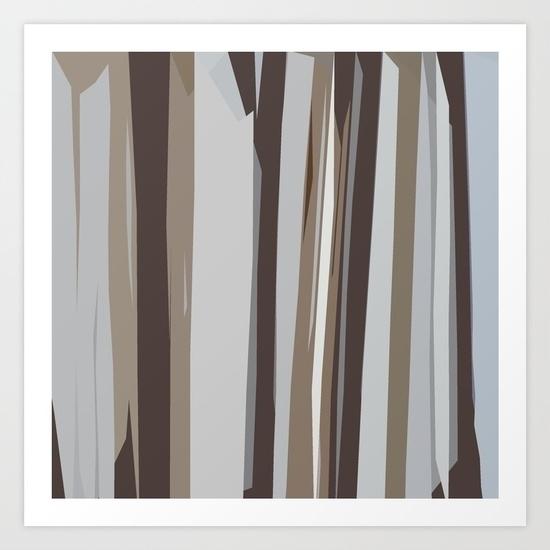 wood, strips, grey, brown, design - miideegrafiche | ello