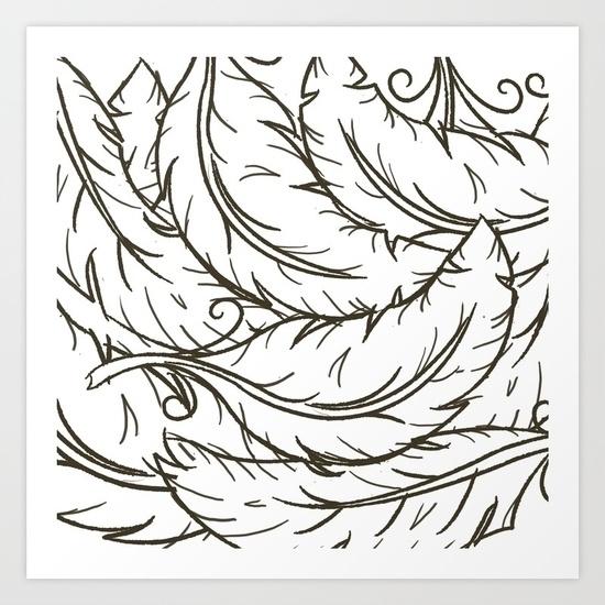 feathers, storm, soft, light - miideegrafiche | ello