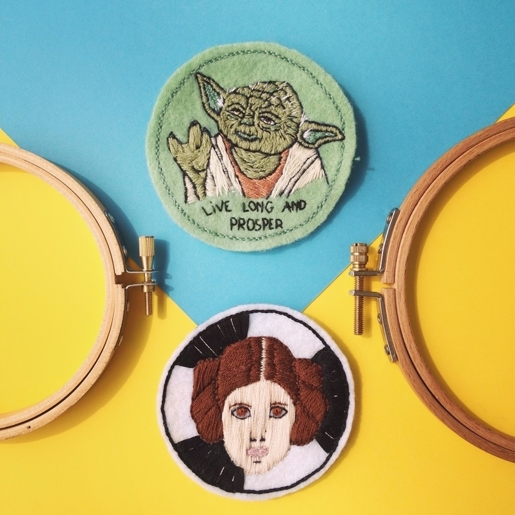 may4thbewithyou, embroideryart - crossthepop | ello