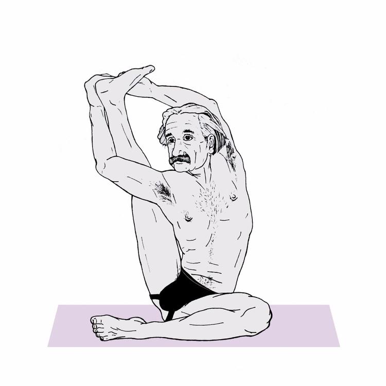 YogaMasters: Albert - albertheinstein - argiuolo | ello