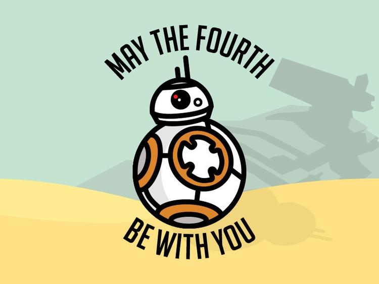 Happy Star Wars Day - maythe4th - jackgdesign | ello