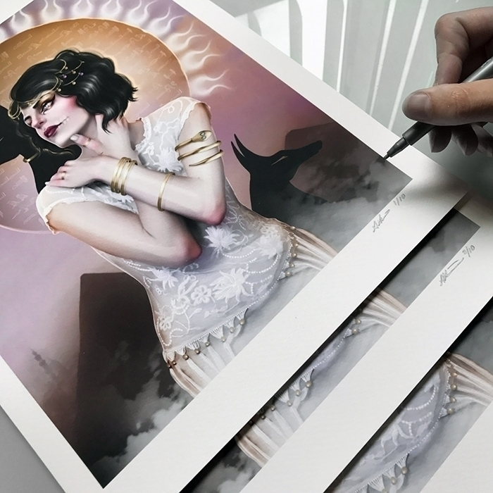Mailing prints today! <3 - auniakahn | ello