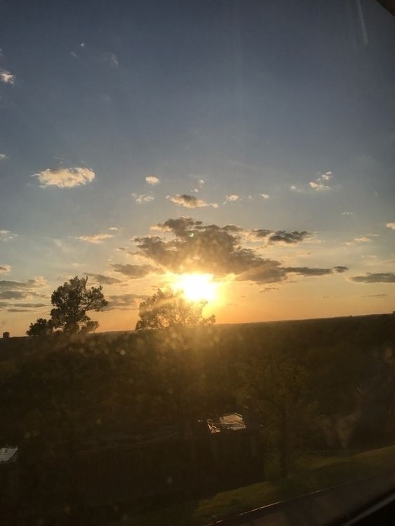 sunset, nofilter, throughthewindow - memery33 | ello