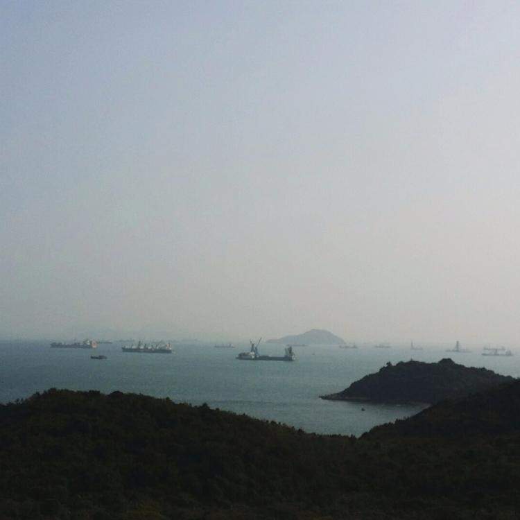 Hong Kong lanscape travel phone - anstey   ello