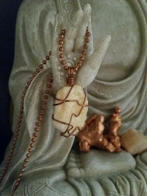 Orange calcite helpful mentally - elevatingvibrations | ello