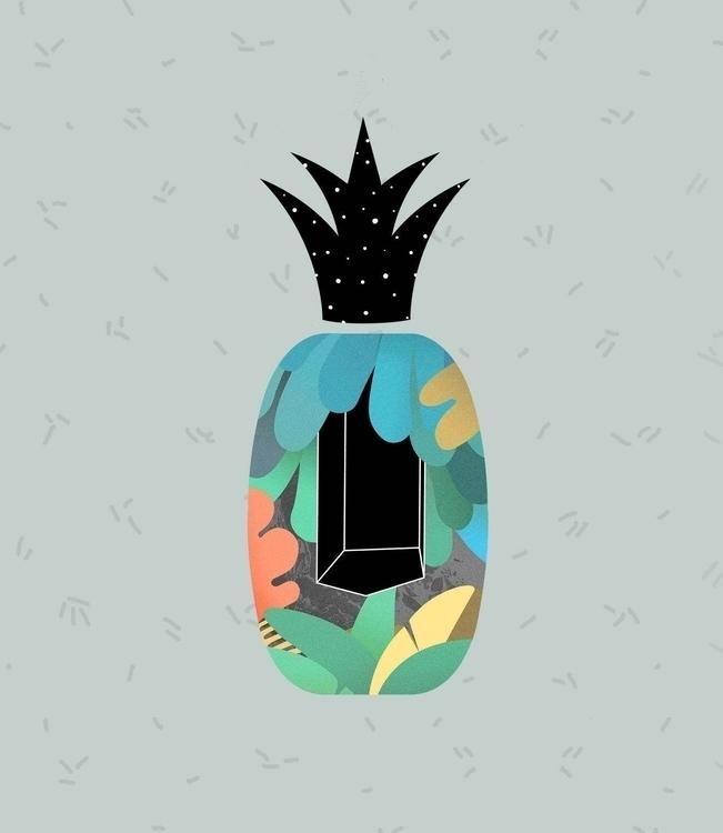 magic, objects, serie, pinneaple - casmiclab | ello