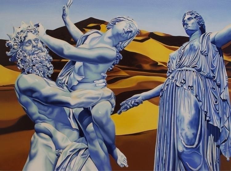 Wrath Demeter oil canvas, 18 24 - brandiread | ello