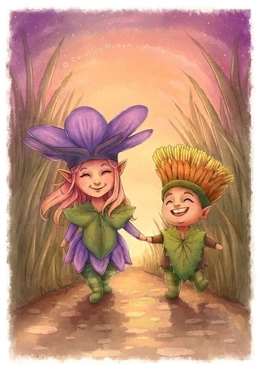 Children Spring  - ploopie | ello