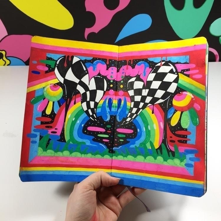 weeks sketchbook entry - mswearer - ms_wearer | ello