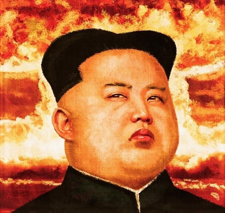Kim Jong Illustration pest. fea - stevevdh   ello