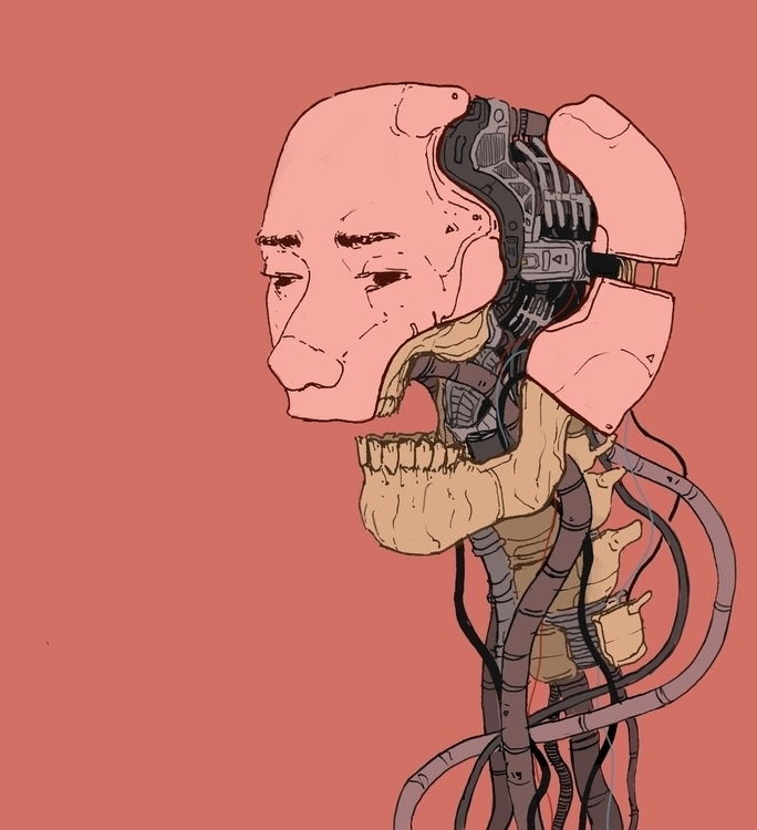 Dismantled - digitalpainting, scifi - okipokie | ello