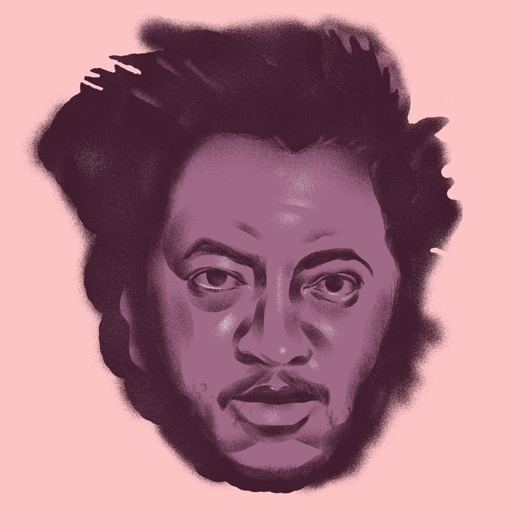 Thundercat - illustration, illustrator - richchane | ello