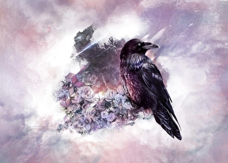 Conscious Cycle - digital, art, floral - dfullz | ello