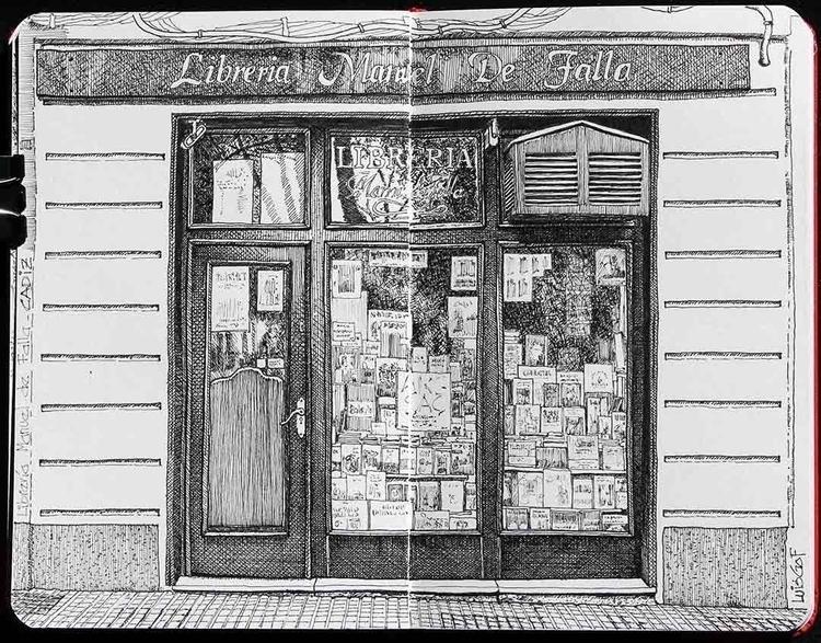 Bookstore Manuel de Falla Cádiz - luisgof | ello