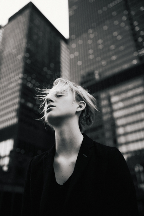 Gust - portrait, model, fashion - matthewneubauer | ello