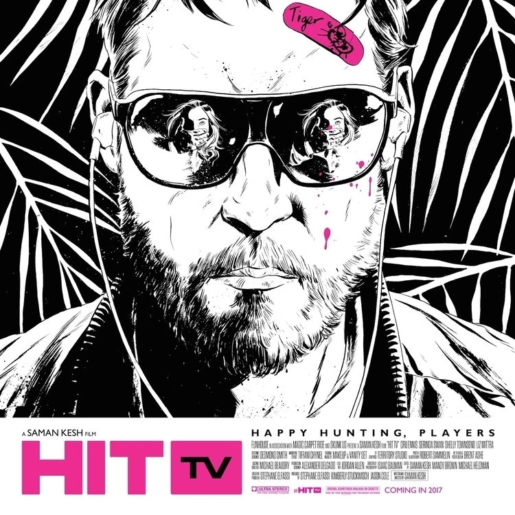 Poster artwork HIT TV. Graphic  - robertsammelin | ello
