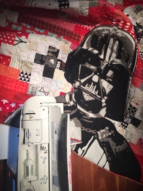 Darth Vader quilt finished  - starwars - lambandwolfie | ello