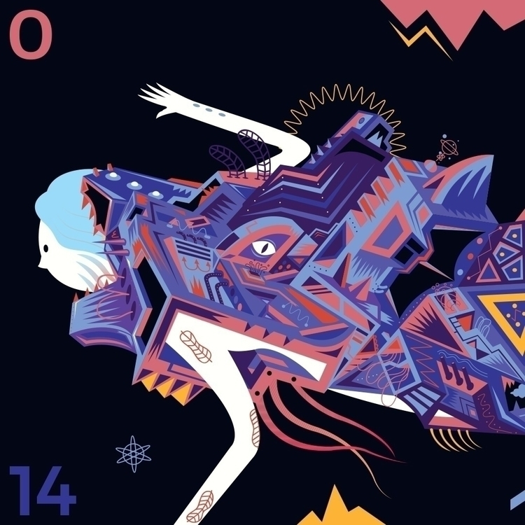Close detail - illustration, digitalillustration - galekto | ello