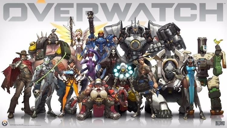 Overwatch Blizzard game Art 201 - sfaart | ello