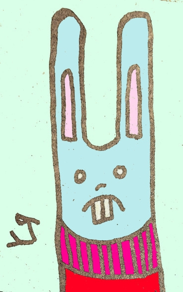 Bunny Rocks Turtleneck Richard  - richardfyates   ello