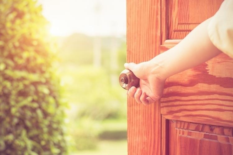 set open door, shut. Revelation - daveandmia | ello