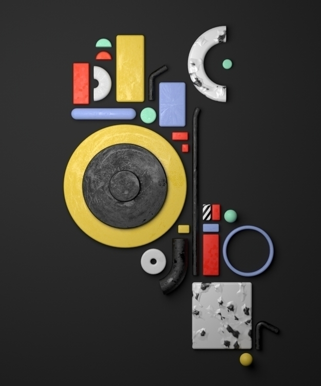 Hidden Letters - letters, geometry - alexandros | ello